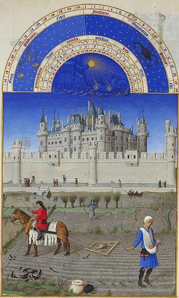 File:Les Très Riches Heures du duc de Berry octobre.jpg