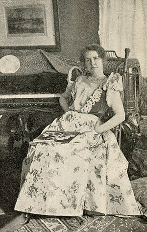 English: American writer Mary E. Wilkins Freeman.
