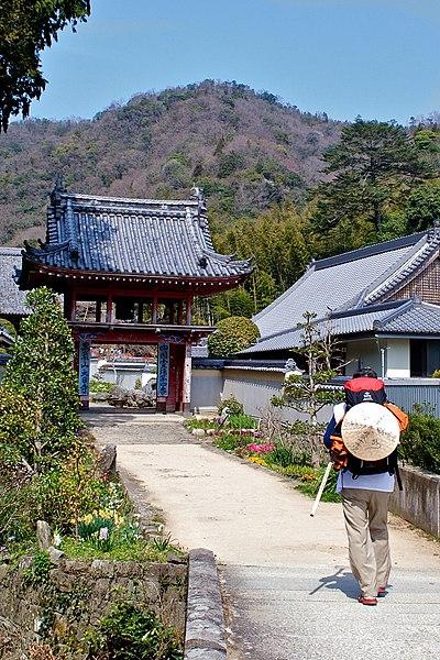 Dainichi-ji, haiku, February pilgrimage, writing challenge,