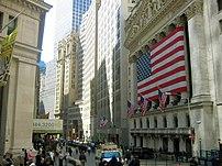 New York Stock Exchange, New York City.
