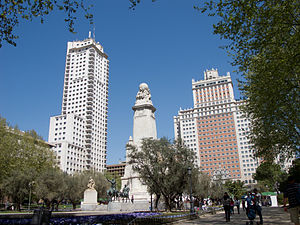 English: Plaza de España, Madrid, Spain. Españ...