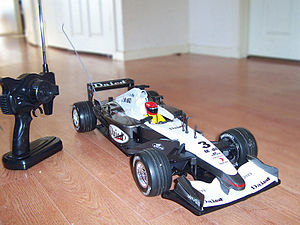 English: Remote Controlled Car