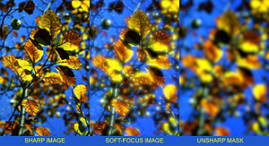English: computer-generated soft-focus images