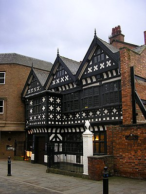 Photograph of Underbank Hall in Stockport, Eng...