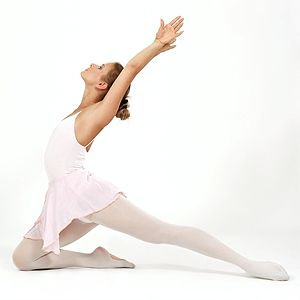 Classic ballet-dancer