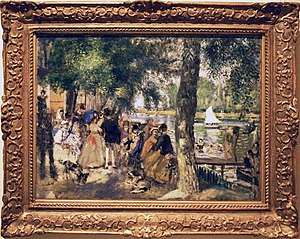 Bathing on the Seine (La grenouillere)
