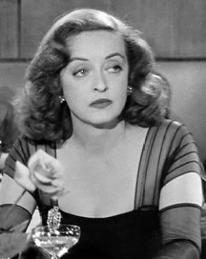 Cropped screenshot of Bette Davis from All Abo...