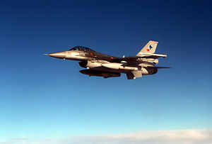 An F-16C Falcon from the Turkish Air Force wai...
