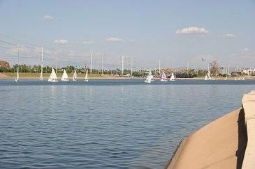Tempe Town Lake - Sailing - 2007-09-09