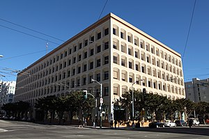 English: Twitter headquarters at 795 Folsom St...