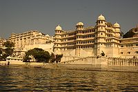 Landscape view of Udaipur