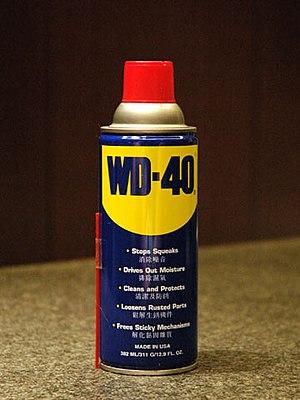 中文: 噴罐包裝的台灣版WD-40 WD-40是一款知名度非常高的多用途化學藥劑噴罐產品,擁...