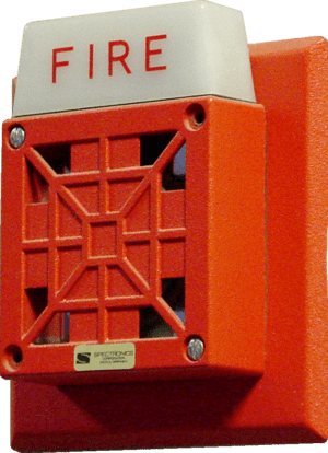 Fire alarm notification appliance