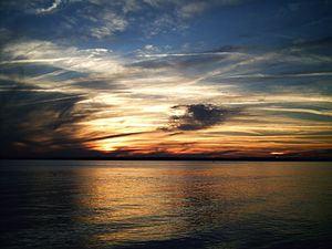 View off of White Point at Charleston, South C...