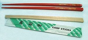 "Japanese ""hashi"" chopsticks and single use ""wa..."