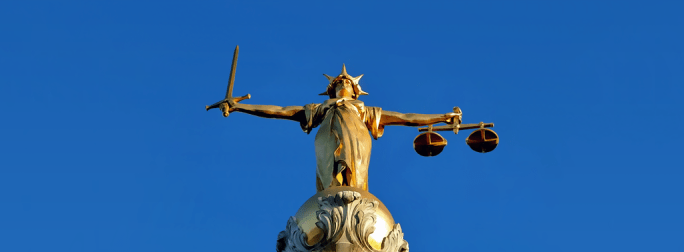 Artists-impressions-of-Lady-Justice, (statue on the Old Bailey, London)