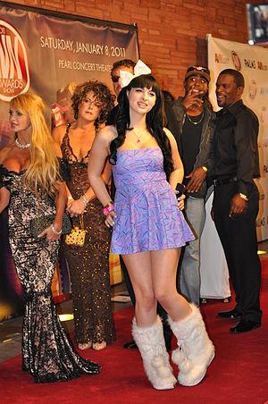 Bailey Jay at AVN Awards 2011