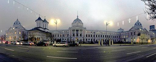 Bucharest - Spitalul Clinic Coltea - pano 01-equalized