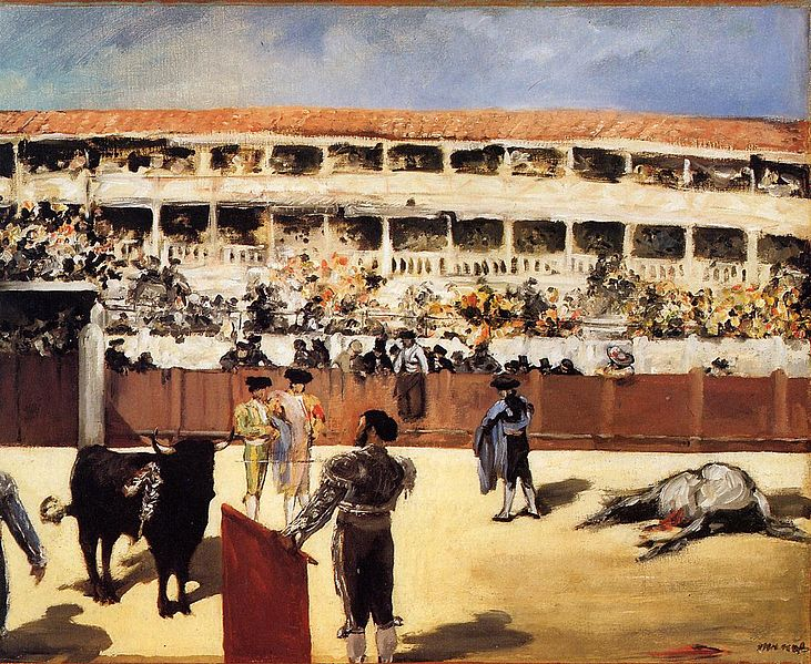 File:Edouard Manet - The Bullfight.jpg