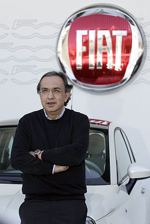 Chief Executive Officer of Fiat Group, Sergio ...