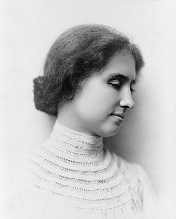 English: Helen Keller. Français : Helen Keller.