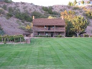 English: Jacob Hamblin home in Santa Clara, Ut...
