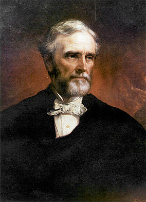 Jefferson Davis, painted by Daniel Huntington ...