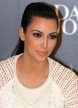 English: Kim Kardashian Get David Jones Tills ...