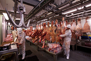 English: Smithfield Meat Market, London, UK