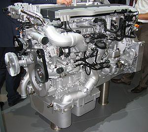 Deutsch: R6-Dieselmotor von MAN (Typ D2676LFxx)