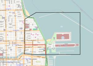 Streeterville map