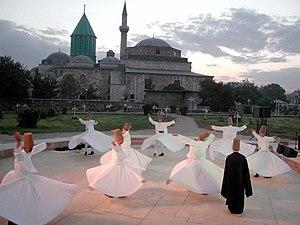 """Mawlānā's tomb. """"Konya"""",Turkey"""