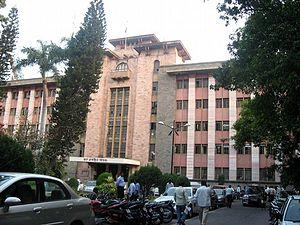 English: Pune Municipal Corporation Building
