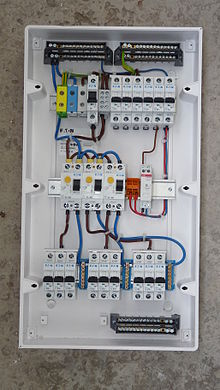 Home wiring   Wikipedia Typical features edit