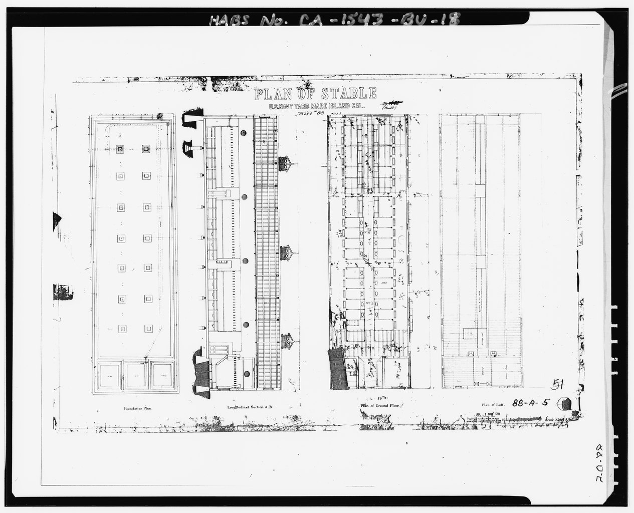 File Photocopy Of Drawing Located At National Archives