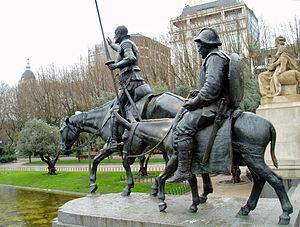 Don Quijote e Sancho Panza