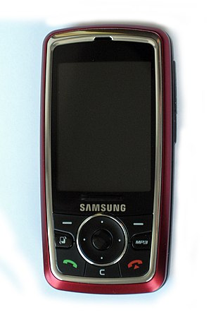 Samsung SGH-i400 smartphone