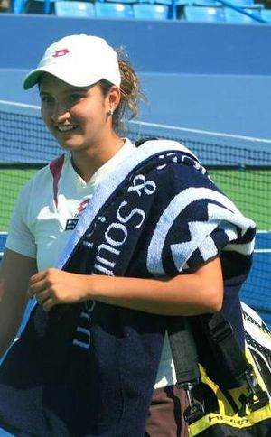Sania Mirza at Cincinnati in July, 2007