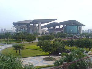 Stade Olympique Guangdong à Canton en Chine