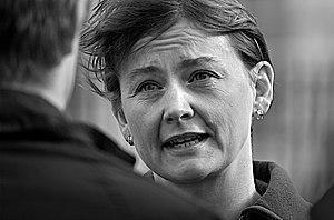 Yvette Cooper, British Labour politician and C...