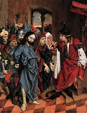 16th-century unknown painters - Christ before ...