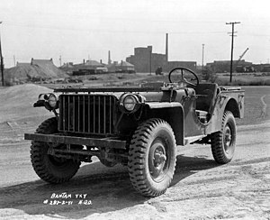 The Bantam Jeep came in many configurations. T...