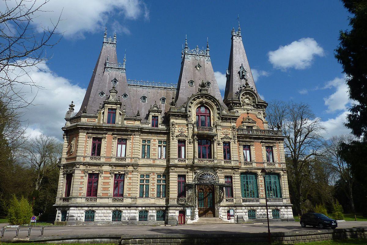 Castillo De Marbeaumont Y Parque Wikipedia La