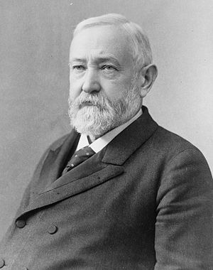 Benjamin Harrison, former President of the Uni...