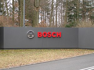 Logo at Bosch Headquarters