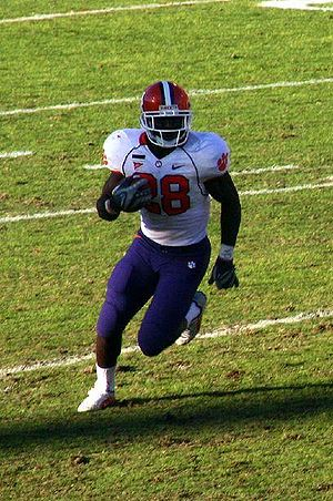 C.J. Spiller cuts outside against the Maryland...