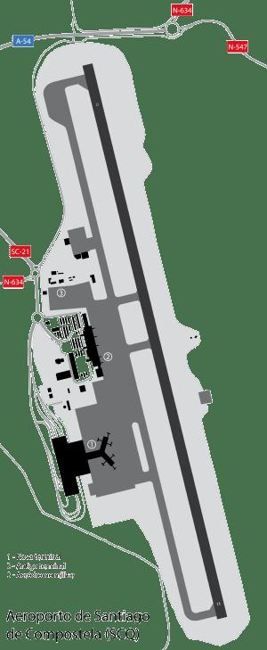 Santiago de Compostela Airport  Wikipedia