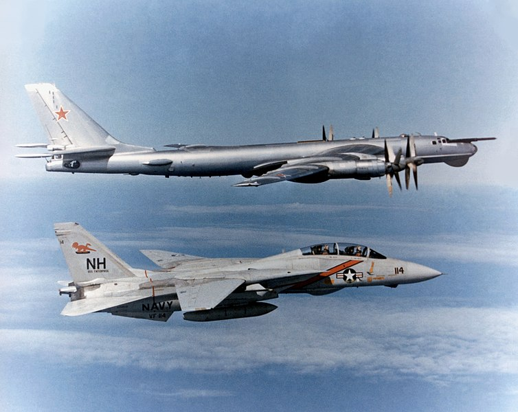 File:F-14 Tomcat VF-114 escorting TU-95 Bear.jpg