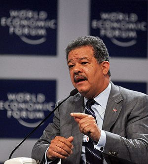 Leonel Fernández, President of the Dominican R...
