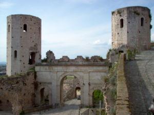 The Porta di Venere (Venus' Gate), from the 1s...